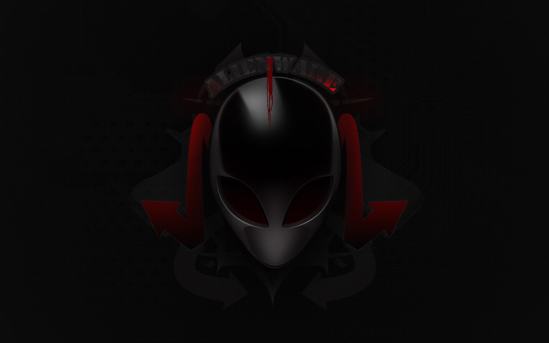 alienware desktop background red - photo #12