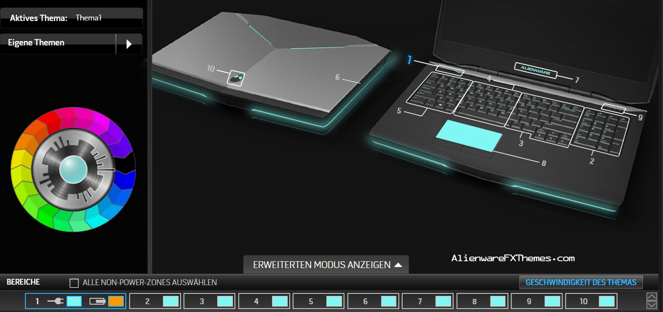 Alienware 17 Colors White by Foster Alienware 17