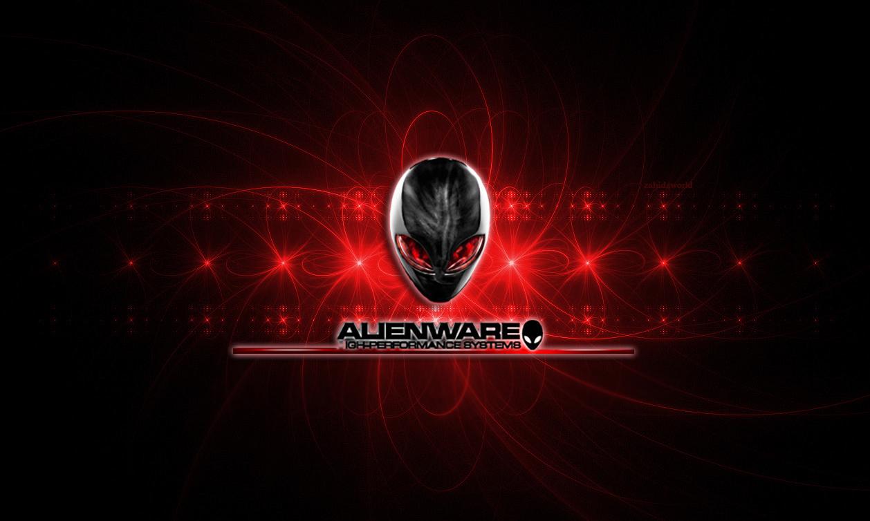 alienware desktop background red - photo #17