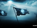 Alienware Desktop Background Alien Flags 1600x900