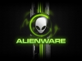 Alienware Desktop Background Alien Head Green Honeycomb Design 1920x1080