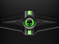 Alienware Desktop Background Alien Head Green Metal Industrial 1920x1200