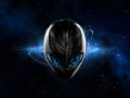 Alienware Desktop Background Blue Space Alienware Head 1920x1080