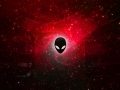 Alienware Desktop Background Red Space Galaxy 2560x1600