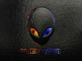 Alienware Desktop Background Stone Orange And Blue 1920x1200