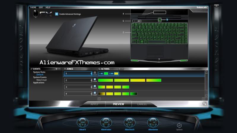 Nukem By ebondefender Alienware M11x Fx Theme